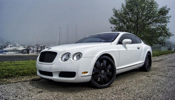 2005 Bentley Continental MAtte White