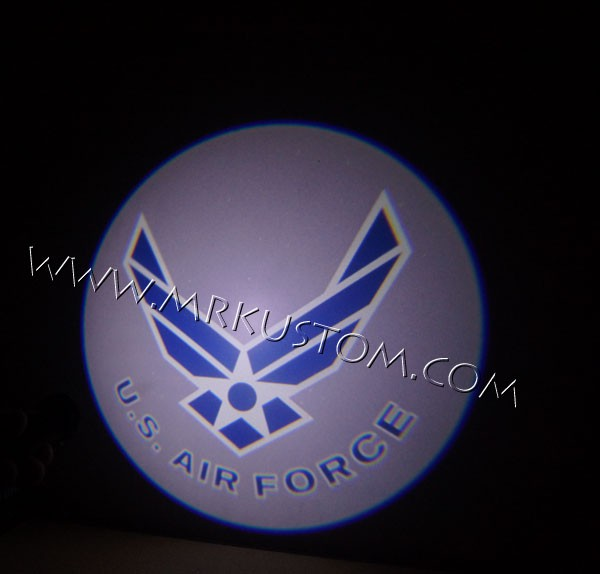 Air Force LED Door Projector Courtesy Puddle Logo Lights
