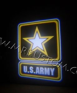 Army LED Courtesy Logo Projector Lights