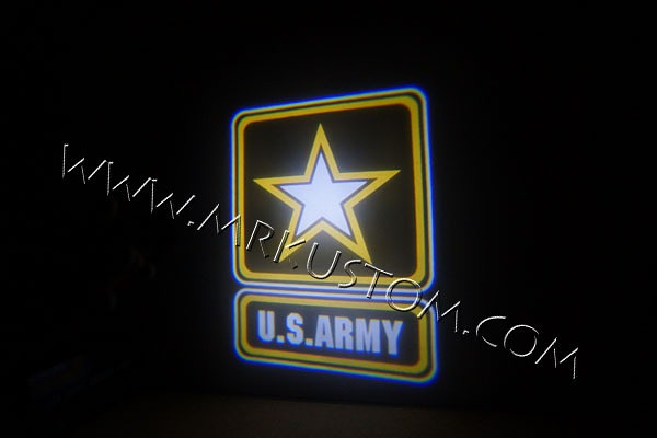 Army LED Door Projector Courtesy Puddle Logo Lights