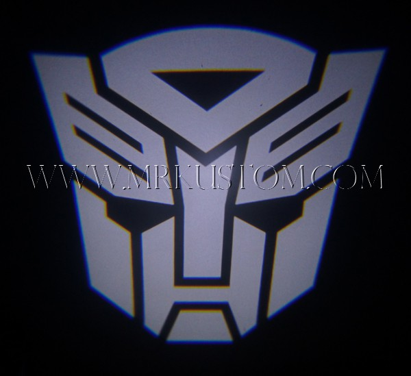 Autobot Transformers Led Door Projector Courtesy Puddle