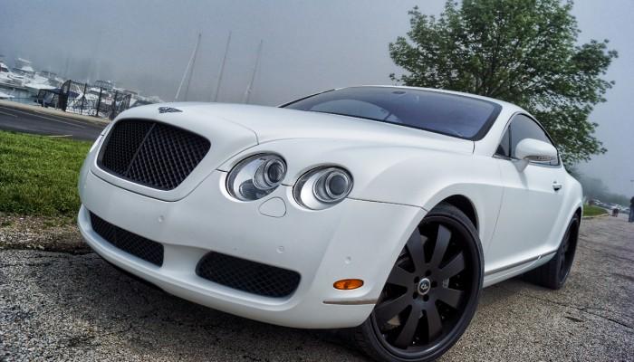 Bentley Matte White