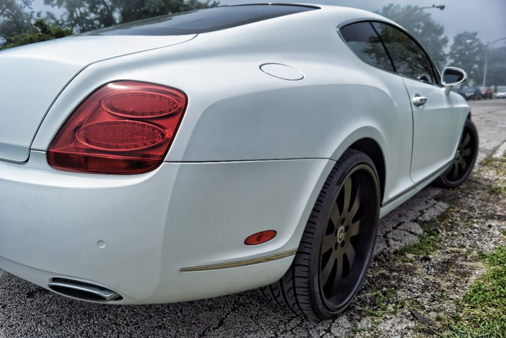 Bentley Matte White Wrap