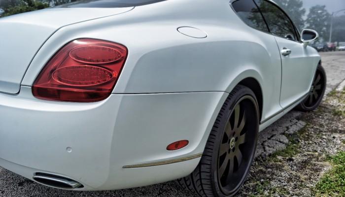 Bentley Matte White Wrap