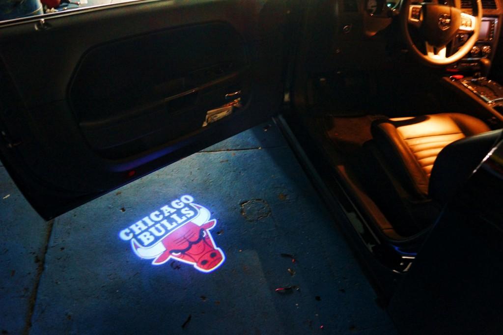 Chicago Bulls Puddle Logo Lights Projector Led Mr