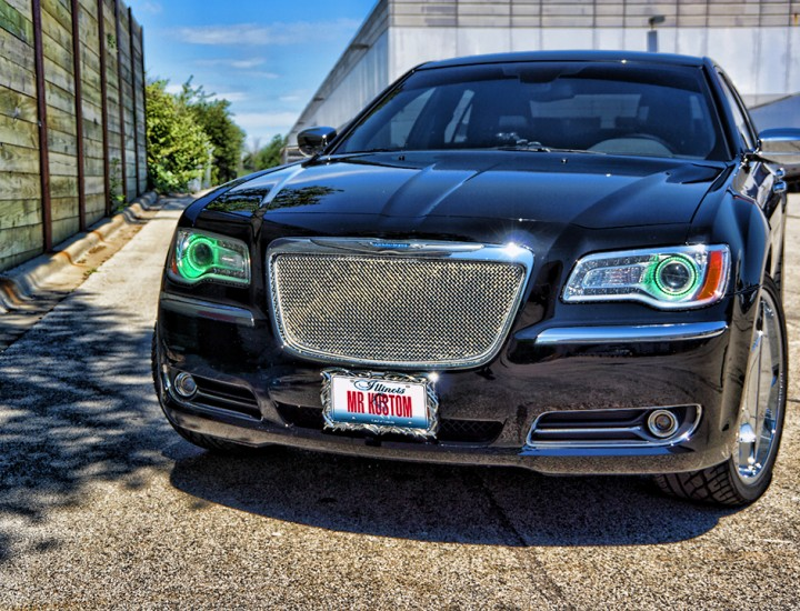 Chrysler 300 Halo Headlights Multi Color Controlled with Smartphone