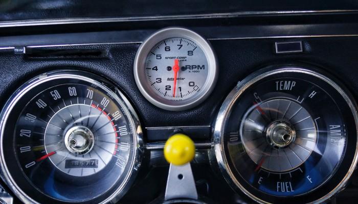 Custom Guages Mercury Cougar 1967