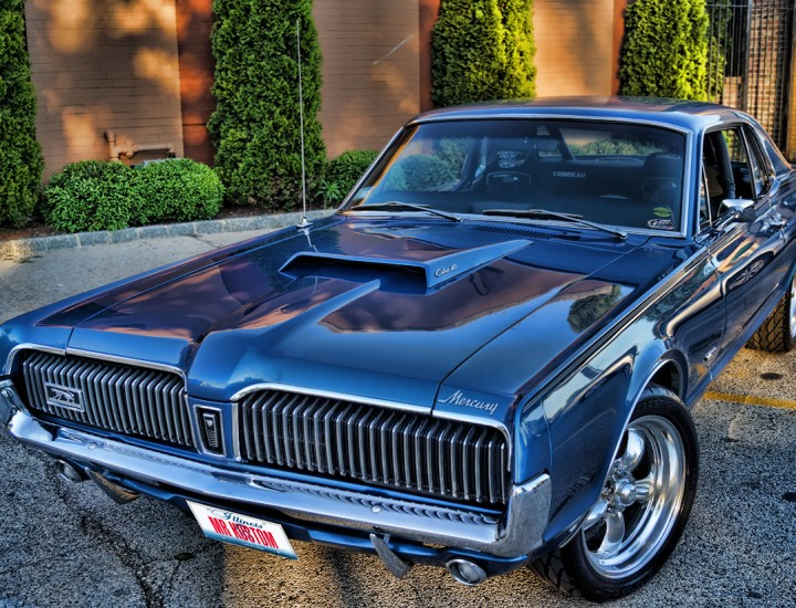 1967 Mercury Cougar Paxton Supercharger & Custom Corbeau Racing Interior