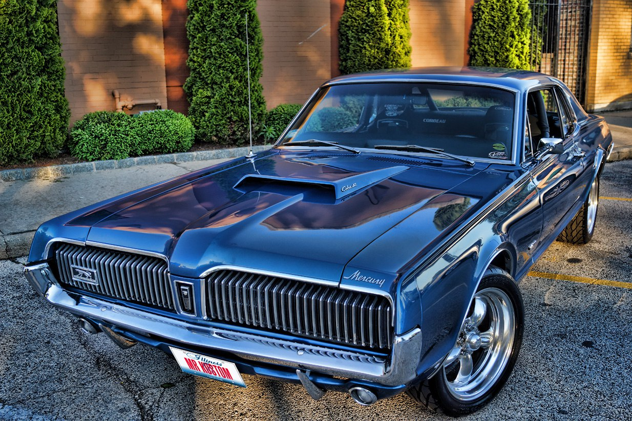 1967 MERCURY COUGAR PAXTON SUPERCHARGER & CUSTOM CORBEAU
