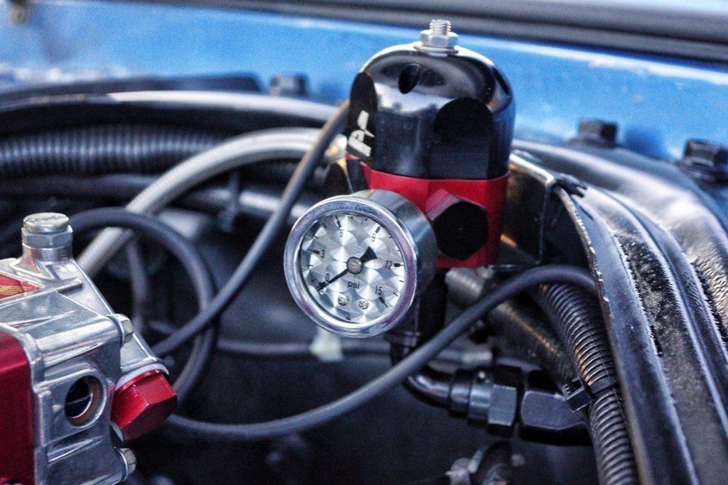 Fuel Pressure Gauge Custom Mercury Cougar 1967