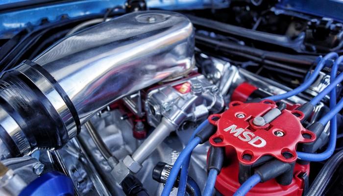 MSD Distributor Cap Custom Mercury Cougar 1967