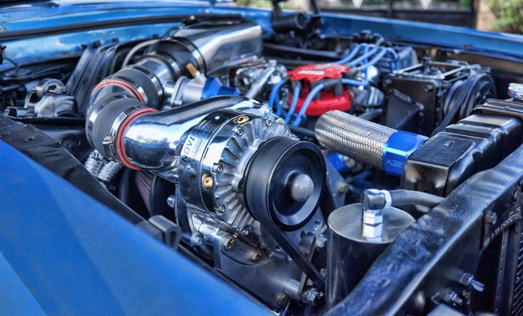 1967 Mercury Cougar Supercharger