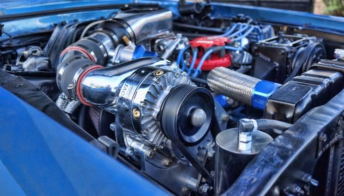 Paxton 1200 Supercharger Custom Mercury Cougar 1967