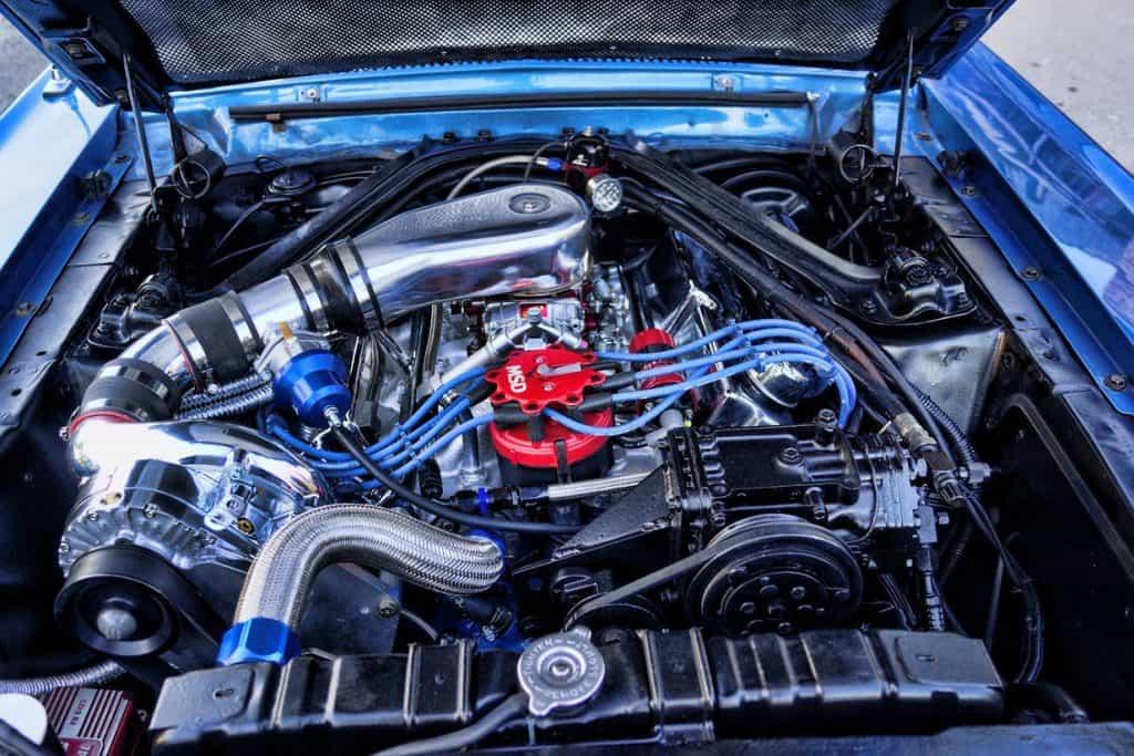 Paxton Supercharger Custom Mercury Cougar 1967