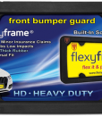 Rubber License Plate Frame HD