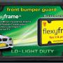 Rubber License Plate Frame Light Duty