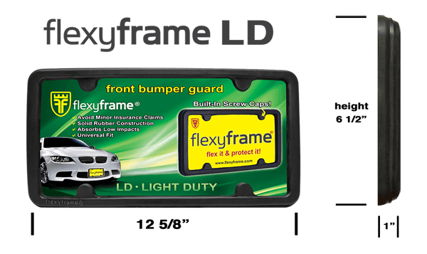 Rubber License Plate Frame
