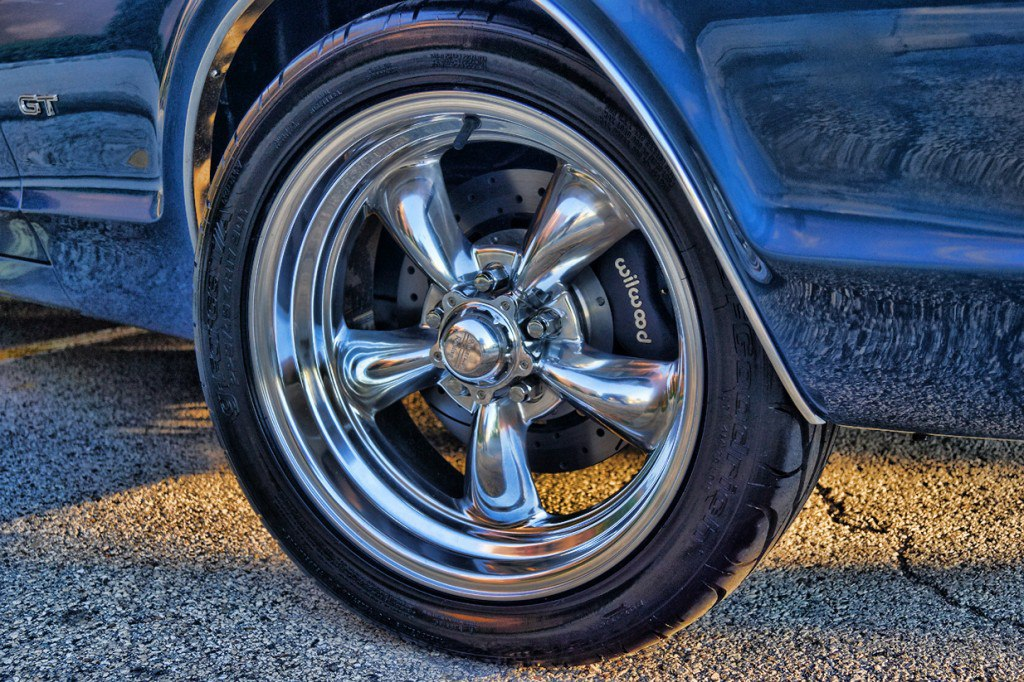 Wilwood Custom Brakes Mercury Cougar 1967