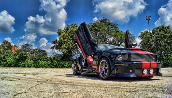 2005 Ford Mustang GT Lambo Doors
