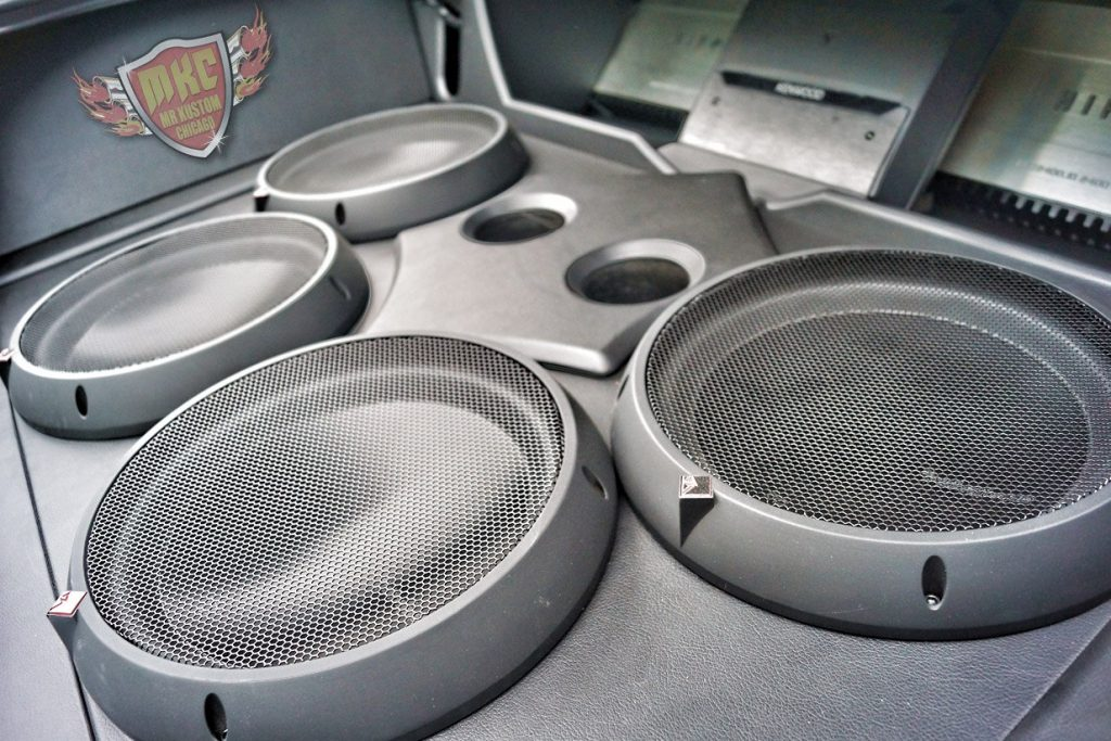 Custom Rockford Fosgate Custom Sub Enclosure