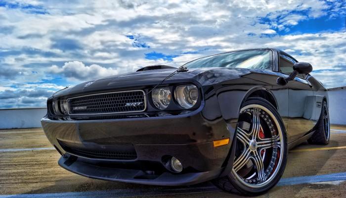 Dodge Challenger SRT8 Asanti RIms
