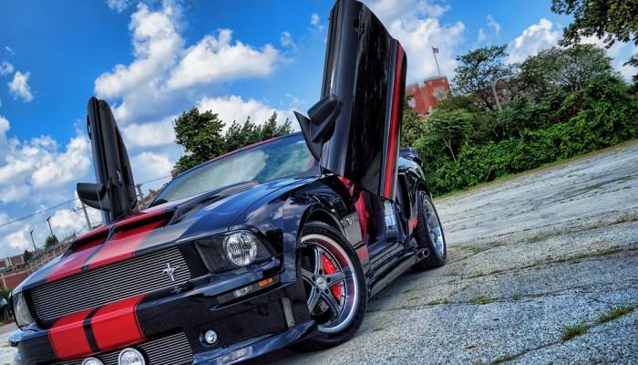 Ford Mustang Lambo Doors 2005 GT