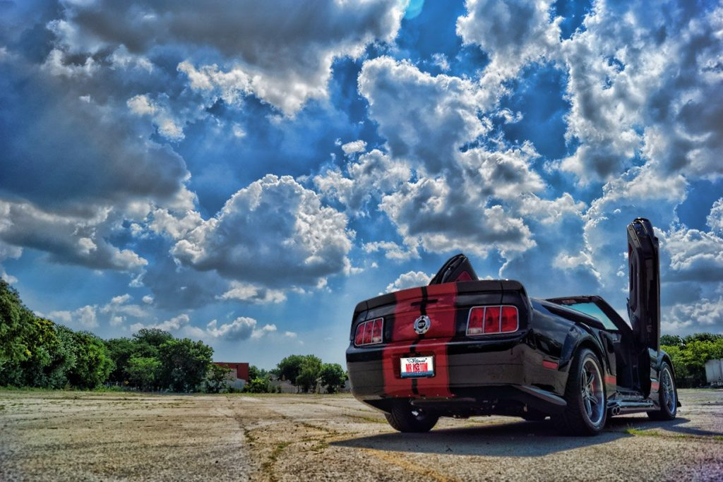 Lamborghini Lambo Doors Ford Mustang GT