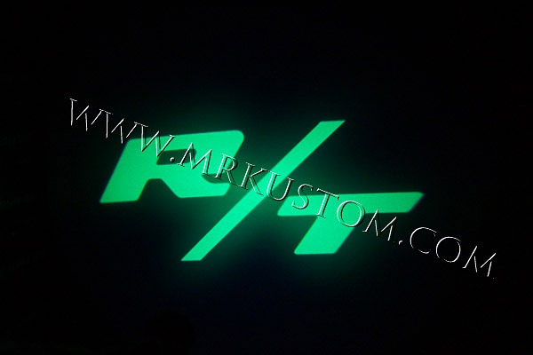 Green RT LED Door Projector Courtesy Puddle Logo Light