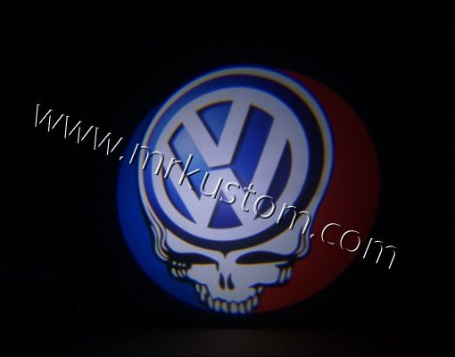 Volkswagen Grateful Dead LED Courtesy Logo Projector Puddle Lights