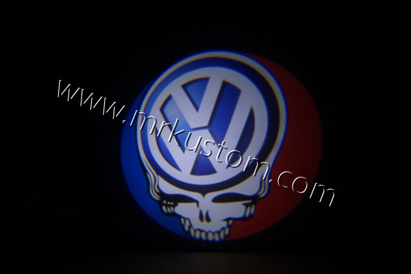Volkswagen Grateful Dead LED Door Projector Courtesy Puddle Logo Lights
