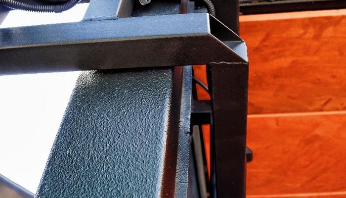 Chicago Bears Custom Fabricated Speaker Bracket