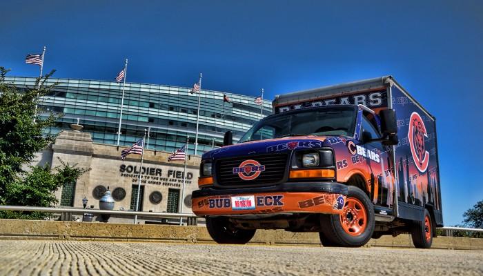 Chicago Bears Fan Truck