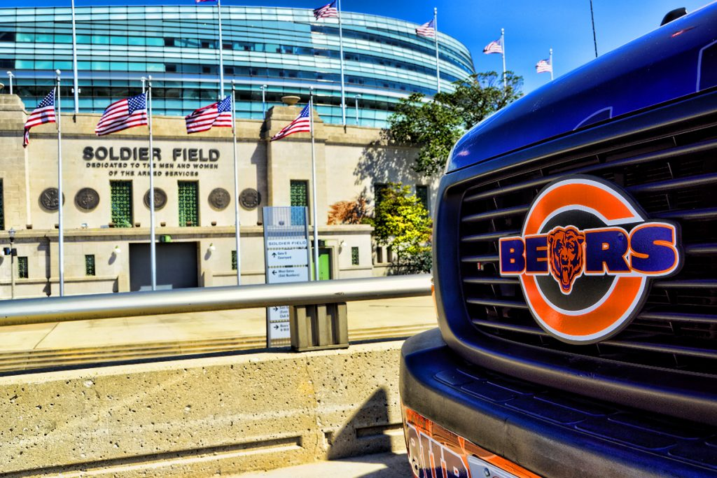 Chicago Bears Grille Emblem Badge