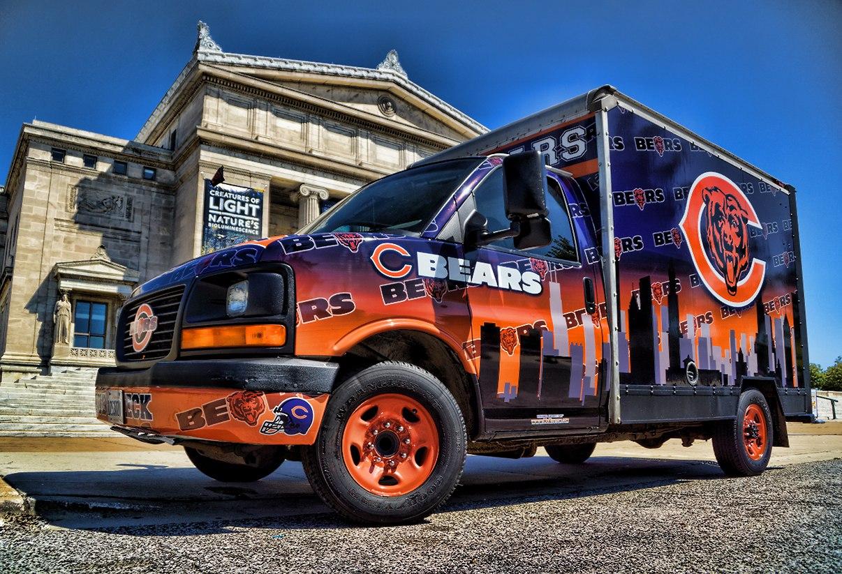 Chicago Bears Fan Tailgating Party Vehicle - Mr. Kustom ...