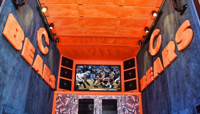 Chicago Bears Tailgate Vehicle