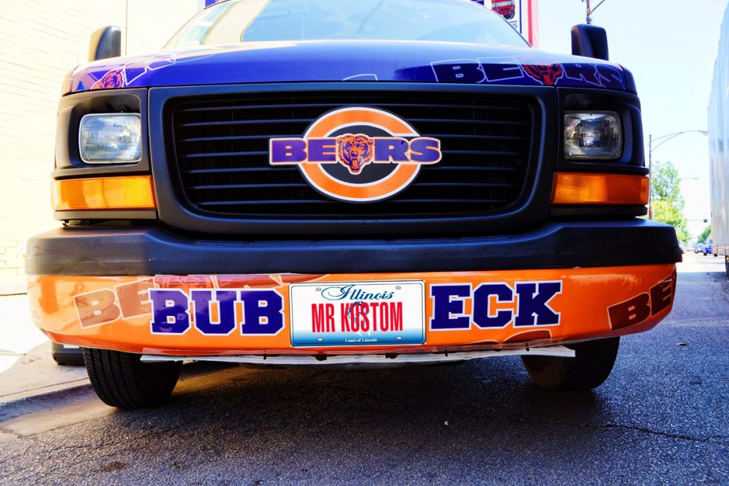 Chicago Bears Truck Grille Emblem