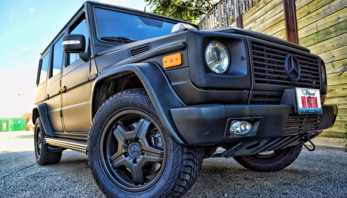 Custom Matte Black Mercedes G55 Wagon