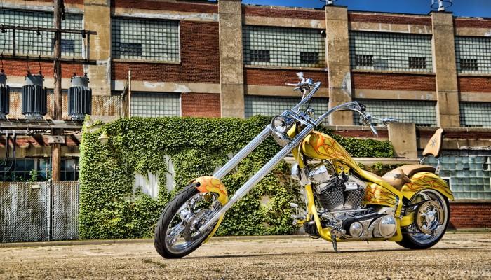 Custom Chopper Bike