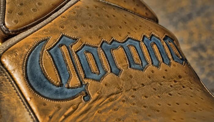 Custom Motorcycle Leather Seat