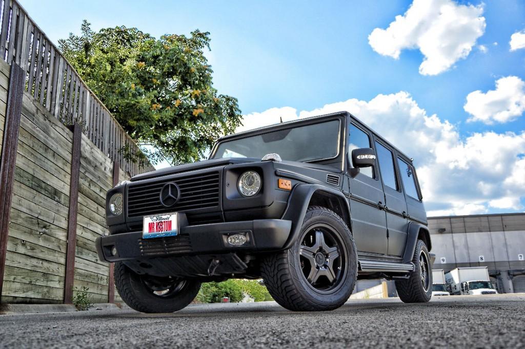 Matte black g wagon autos post for Mercedes benz g wagon matte black price