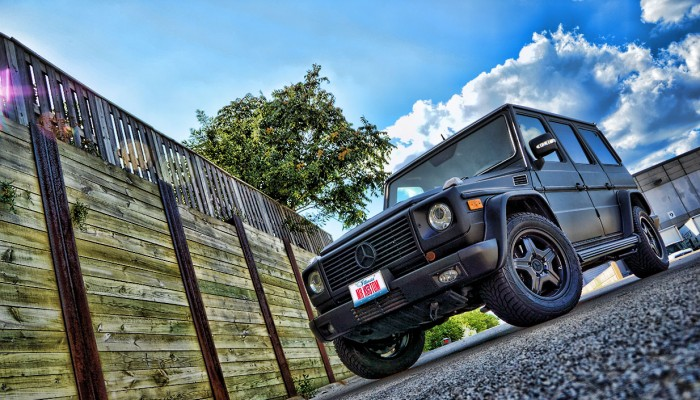Mercedes G Wagon Matte Black Wrap