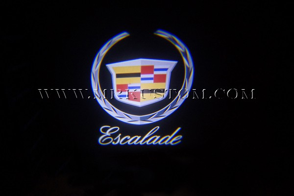 Cadillac Escalade Led Door Projector Courtesy Puddle Logo