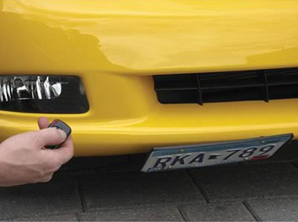 Hidden License Plate Retractable Electric Kit