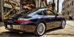 Porsche 911 996 Custom Sub Woofer Box Job
