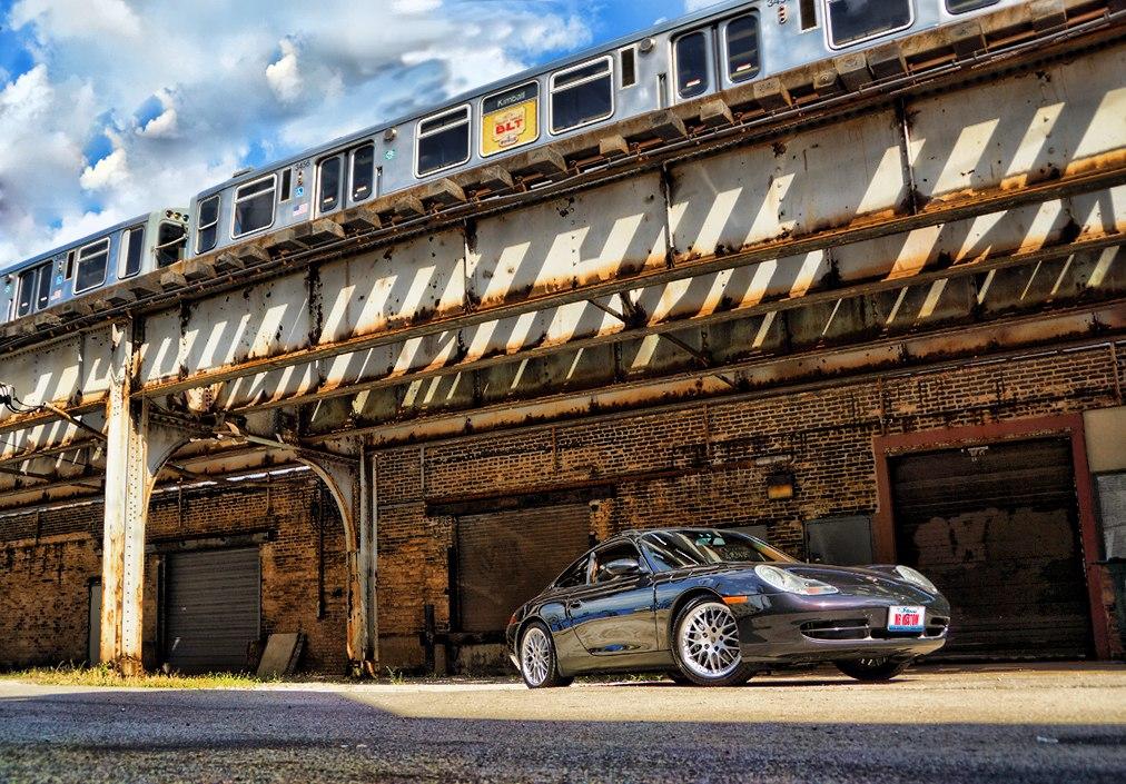 Porsche 911 Custom Rockford Sub Woofer Blx
