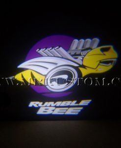 Rumble Bee LED Door Projector Courtesy Puddle Logo Light