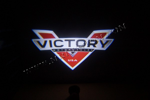 Victory Motorcycle LED Door Projector Courtesy Puddle Logo Light & Motorcycle LED Door Projector Courtesy Puddle Logo Light pezcame.com
