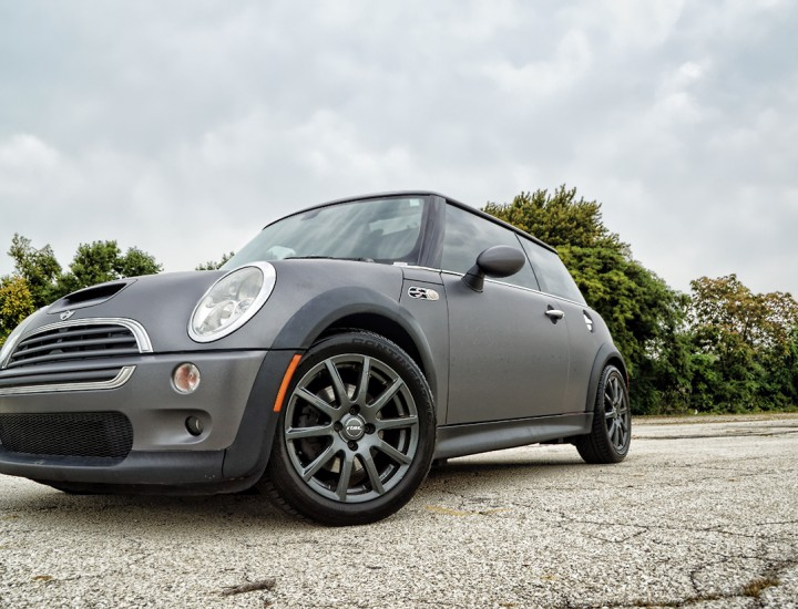 2004 Mini Cooper Matte Gray Wrap – Mr. Kustom Chicago