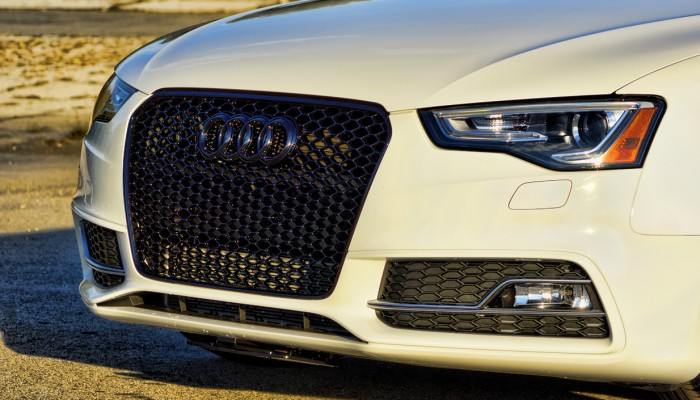 Audi Blacked Out Grille