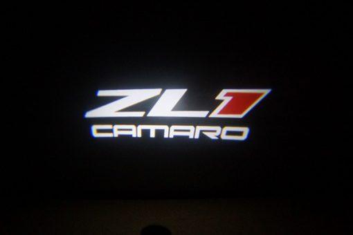 Camaro ZL1 LED Door Projector Courtesy Puddle Logo Light
